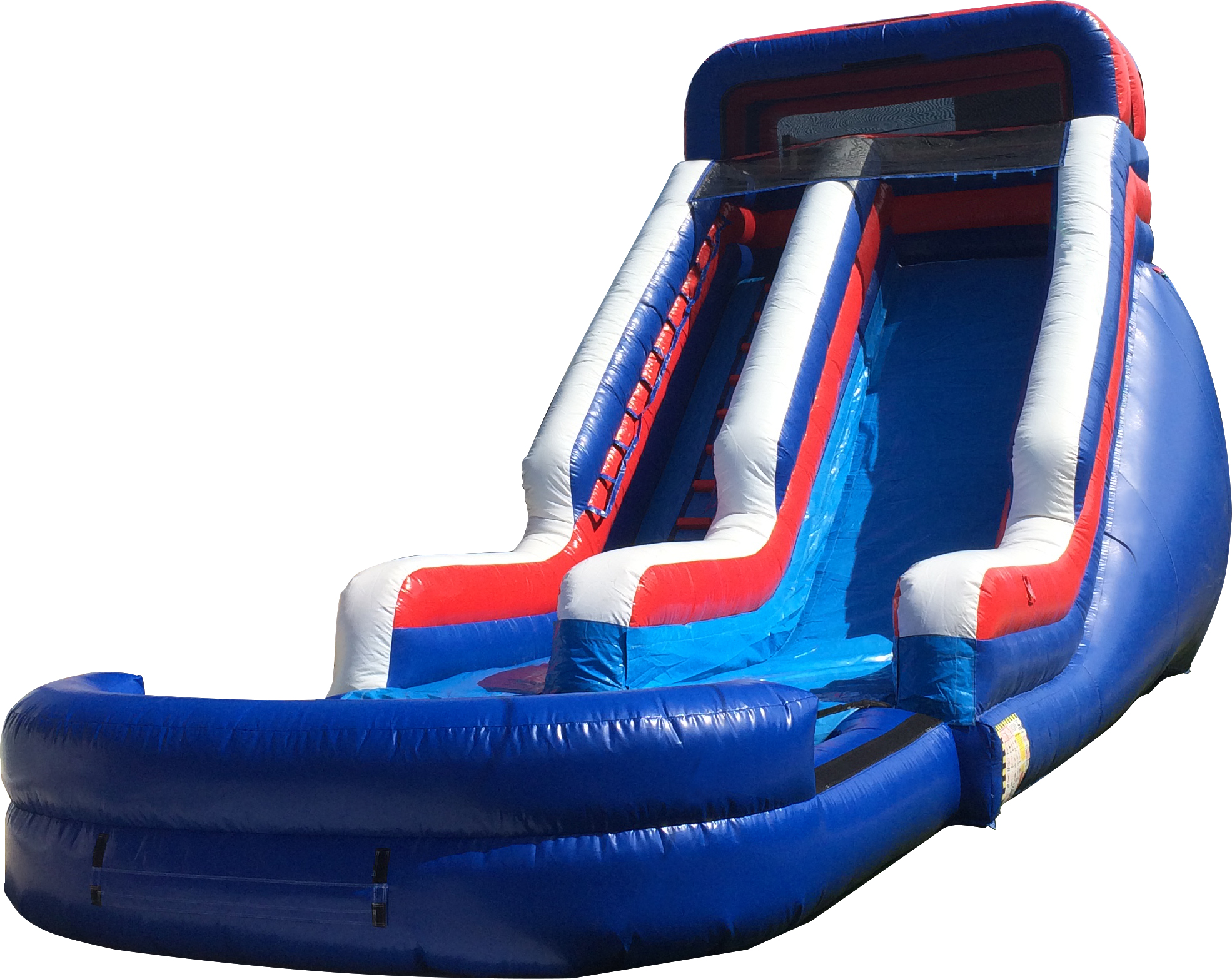 Patriotic Waterslide
